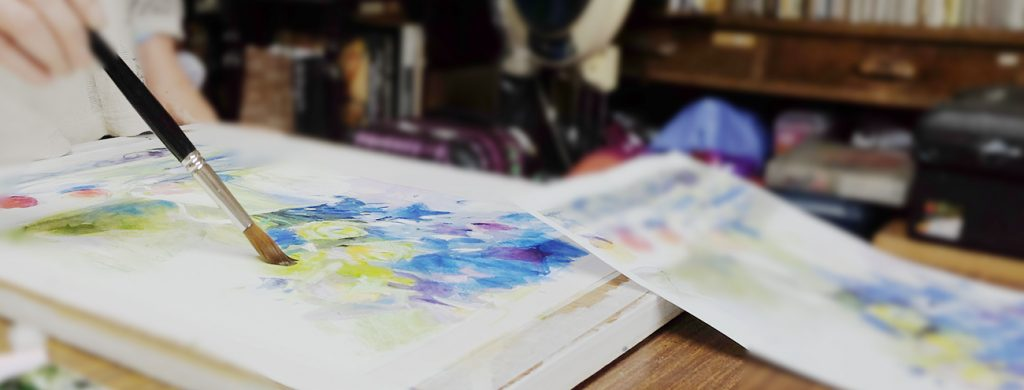 絵画教室 水彩画